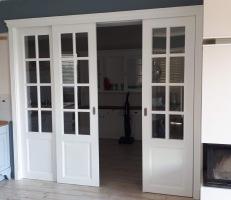 Drzwi podwójne przesuwane